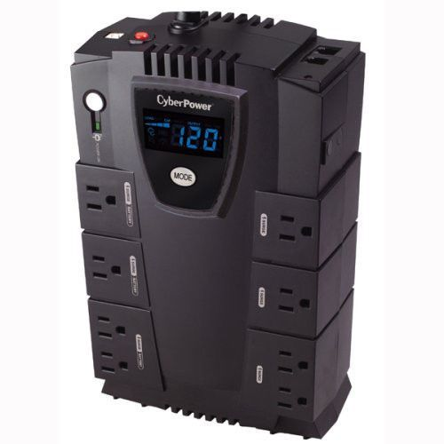 Pc Surge Protector Desktop Home Entertainment Ups Lcd Tv Usb Workstation Power Cyberpower Home Entertainment
