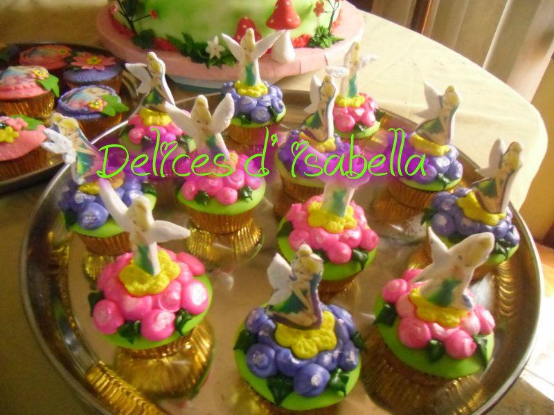 cupcakes Tinkerbell...dulzura hecha pastel