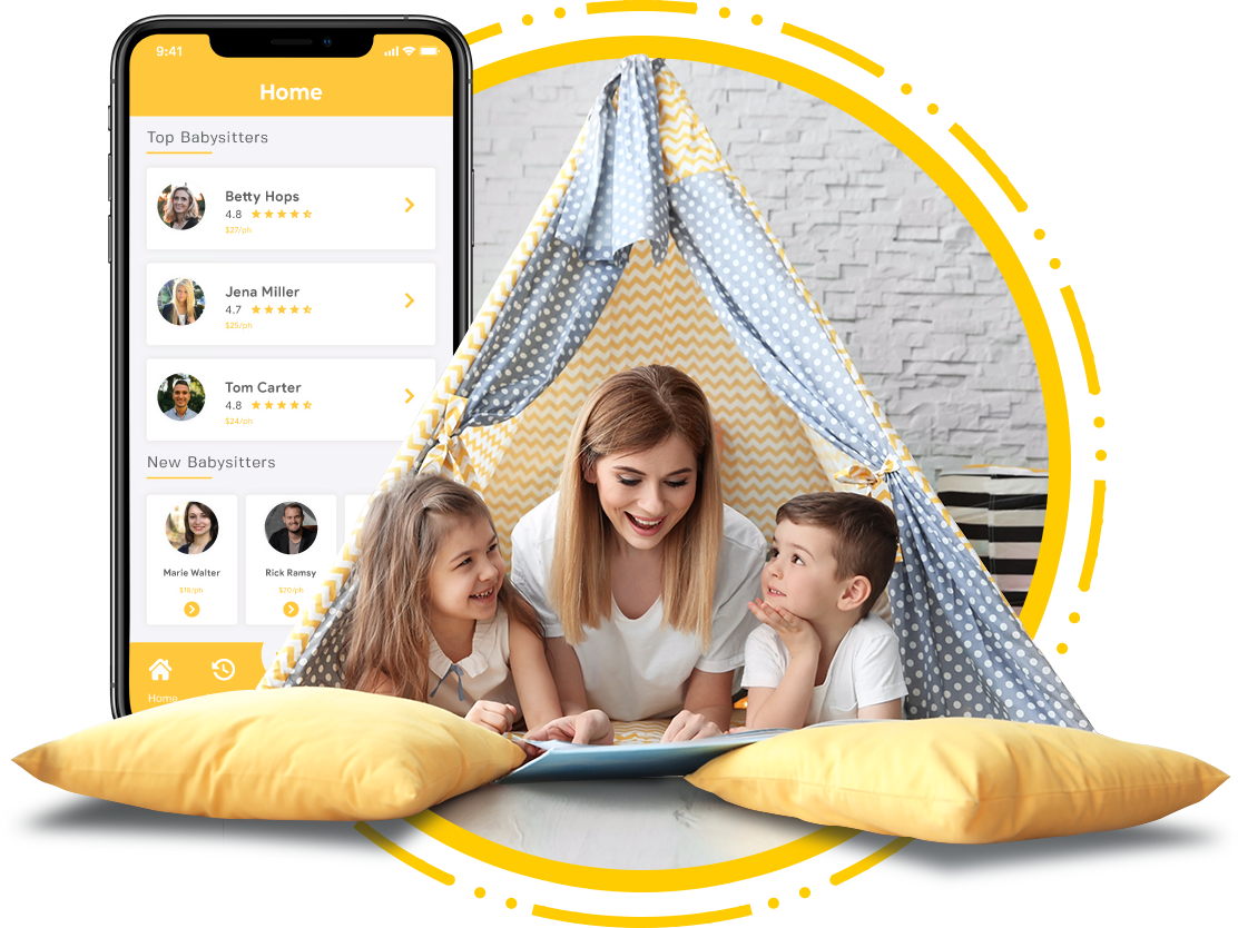 Help Working Parents To Search For Professional Nannies