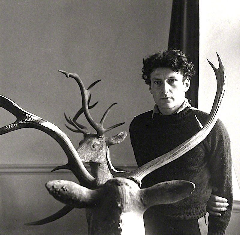Lucian Freud photographed by Beaton