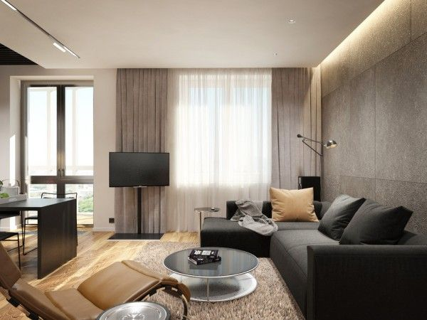 Apartment Designs For A Small Family Young Couple And A Bachelor Small Apartment Interior Interior Design Apartment Small Apartment Interior Design Living room ideas young family