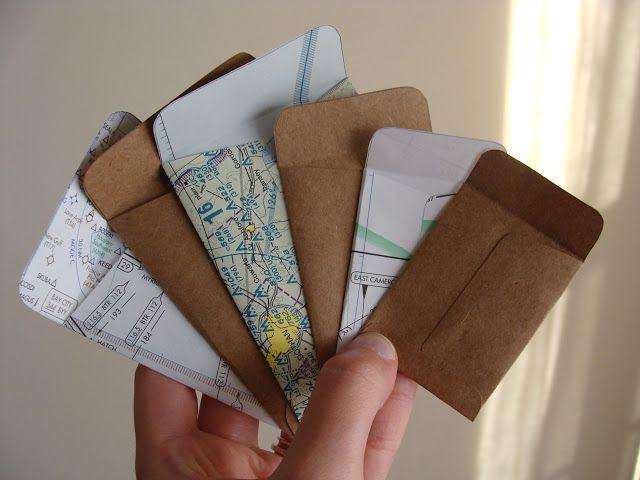 Something Ivory: DIY Mini Envelopes
