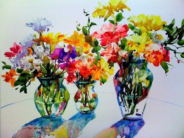 CENTRAL FLORIDA WATERCOLOR ARTISTS Easy Watercolor PaintingsWatercolor SeaWatercolour FlowersWatercolor