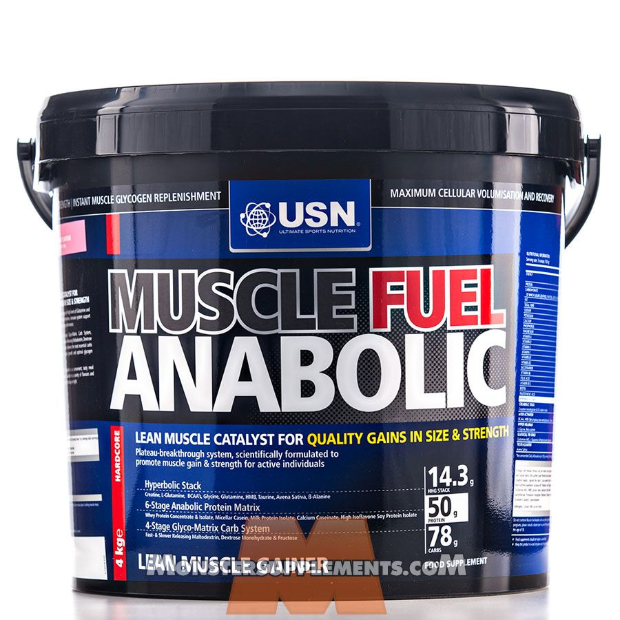 USN Muscle Fuel Anabolic 4kg Plus a Free USN Shaker - £59.75 Bodybuilding supplements Muscle