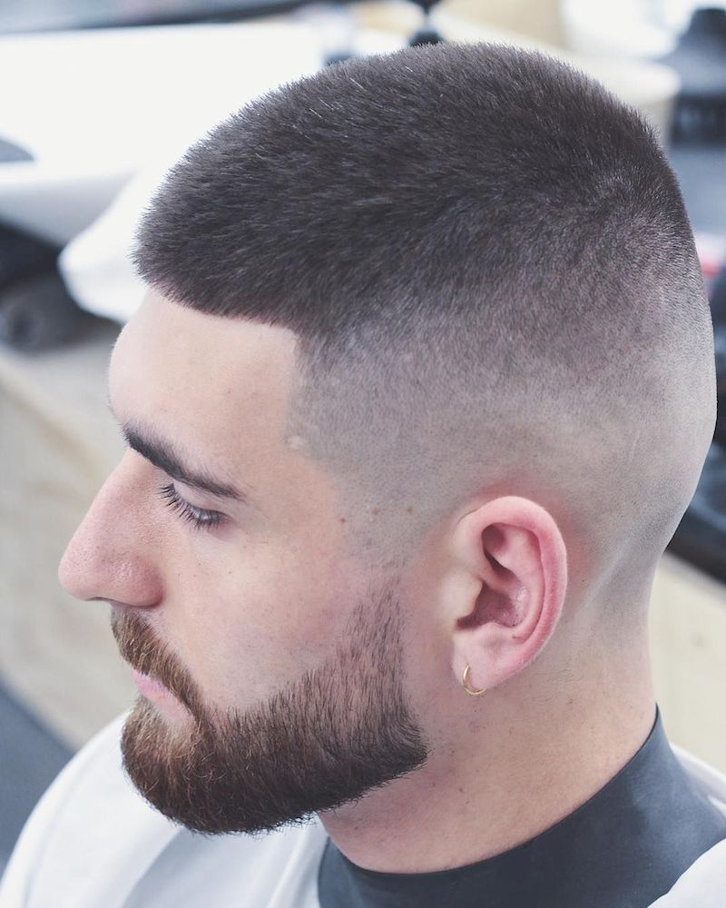 long buzz cut hairstyles