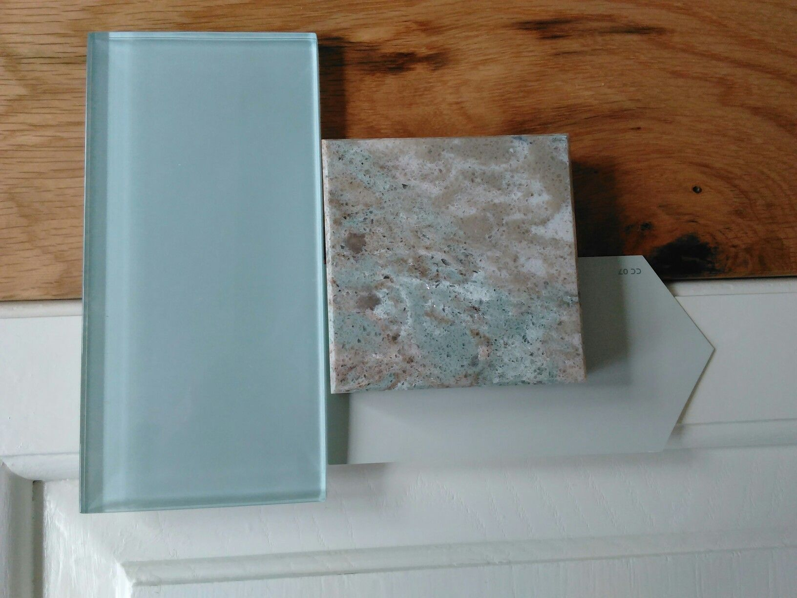Kitchen design (our final choice): Somerset white oak floor, Cambria ...