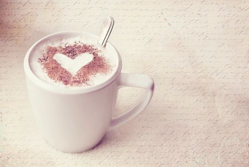 Heart latte coffee coffee art pinterest heart latte coffee voltagebd Images