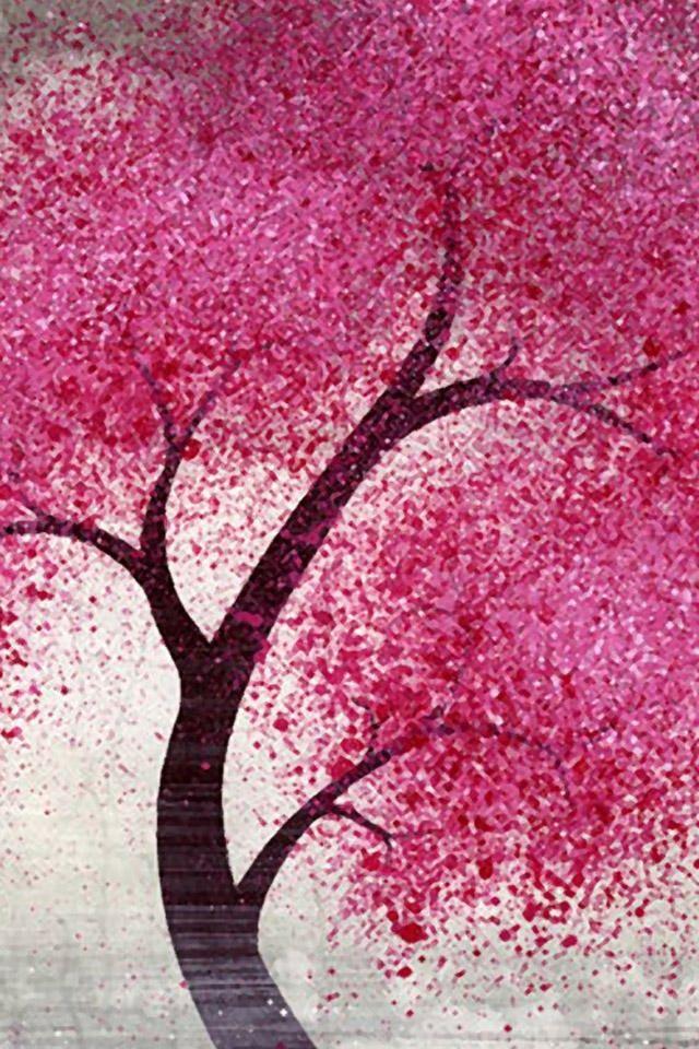 Pin By Lynn Ashbaugh On Wallpaper Beautiful Wallpaper Hd Pink Trees Cellphone Wallpaper