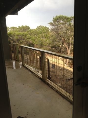 Hill Country Homebody Hog Wire Porch Railing Exterior In