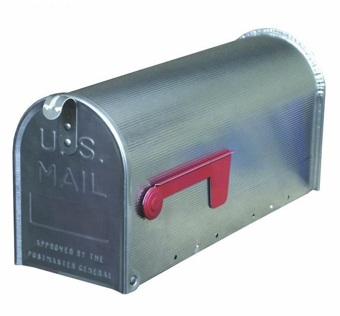 aluminum mailbox post. Solar Group Premium Aluminum Post Mount Mailbox
