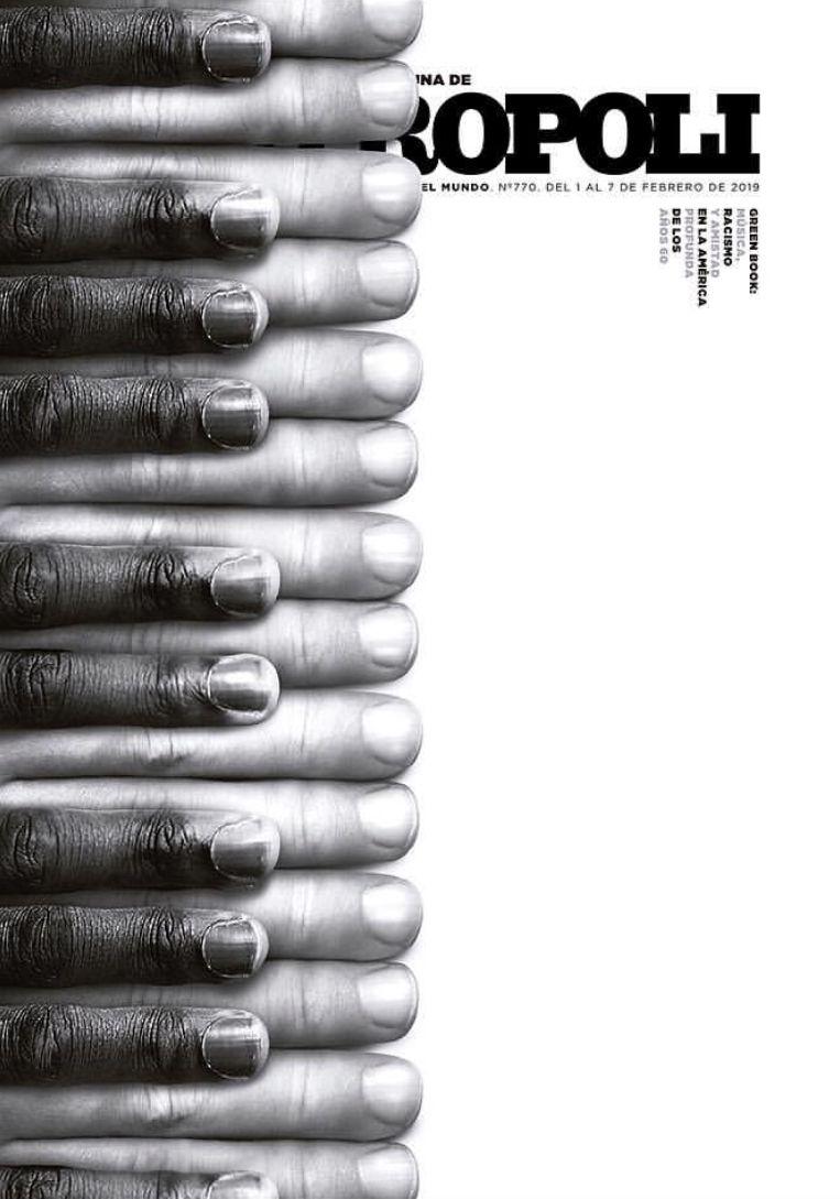 Metropoli Minimal graphic design, Cover, Green books