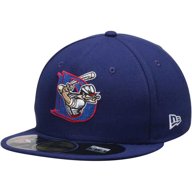 quality design 554e5 822e4 Auburn Doubledays New Era Authentic Home 59FIFTY Fitted Hat - Royal