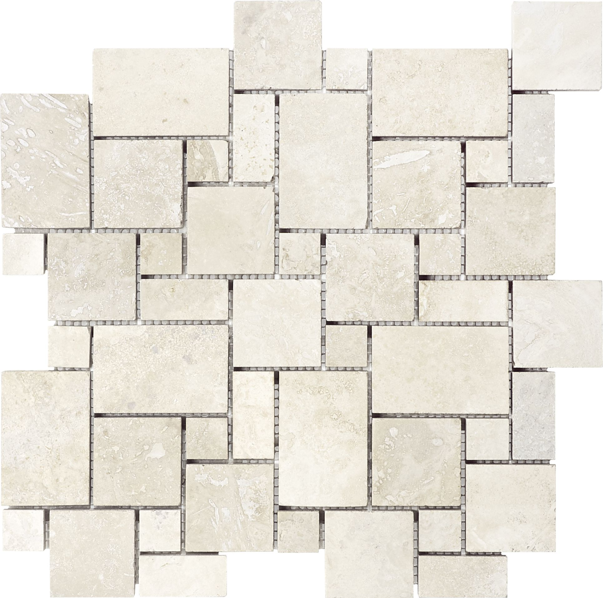 Anatolia Tile Chiaro Filled And Honed 12 In X 12 In Honed And Filled Natural Stone Travertine Versailles Mosaic Wall Tile Lowes Com Travertine Wall Tiles Travertine Mosaic Tiles Mosaic Flooring