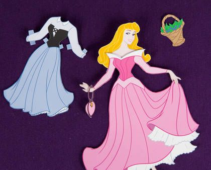 Coloring Pages Of Princess Belle : Belle paper doll aurora sleeping beauty princess aurora and