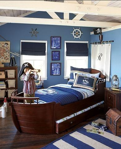 17 Best images about Kid Bedroom Decorating Ideas on Pinterest. Blue boy bedroom
