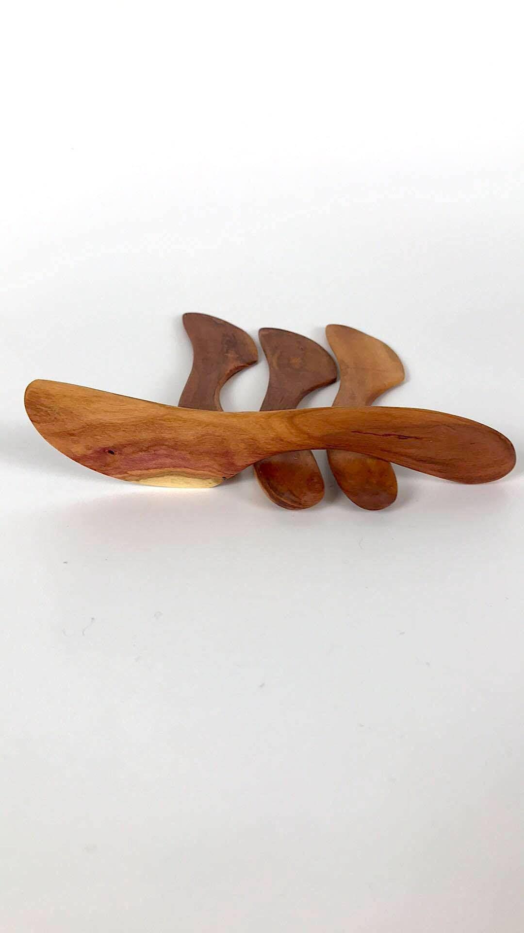Wooden spreading knife wood butter knife handmade knife