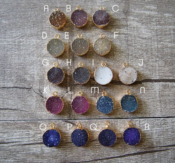 Buy cheap wholesale natural round druzy agate pendant tiny lovely buy cheap wholesale natural round druzy agate pendant tiny lovely agate druzy pendants 12mm aloadofball Images