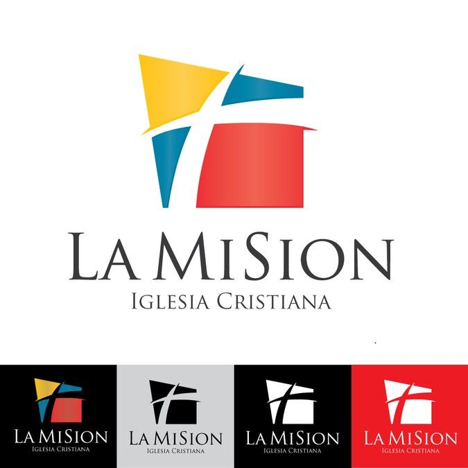 Create a powerful, modern, clean and colorful logo for a hispanic ...