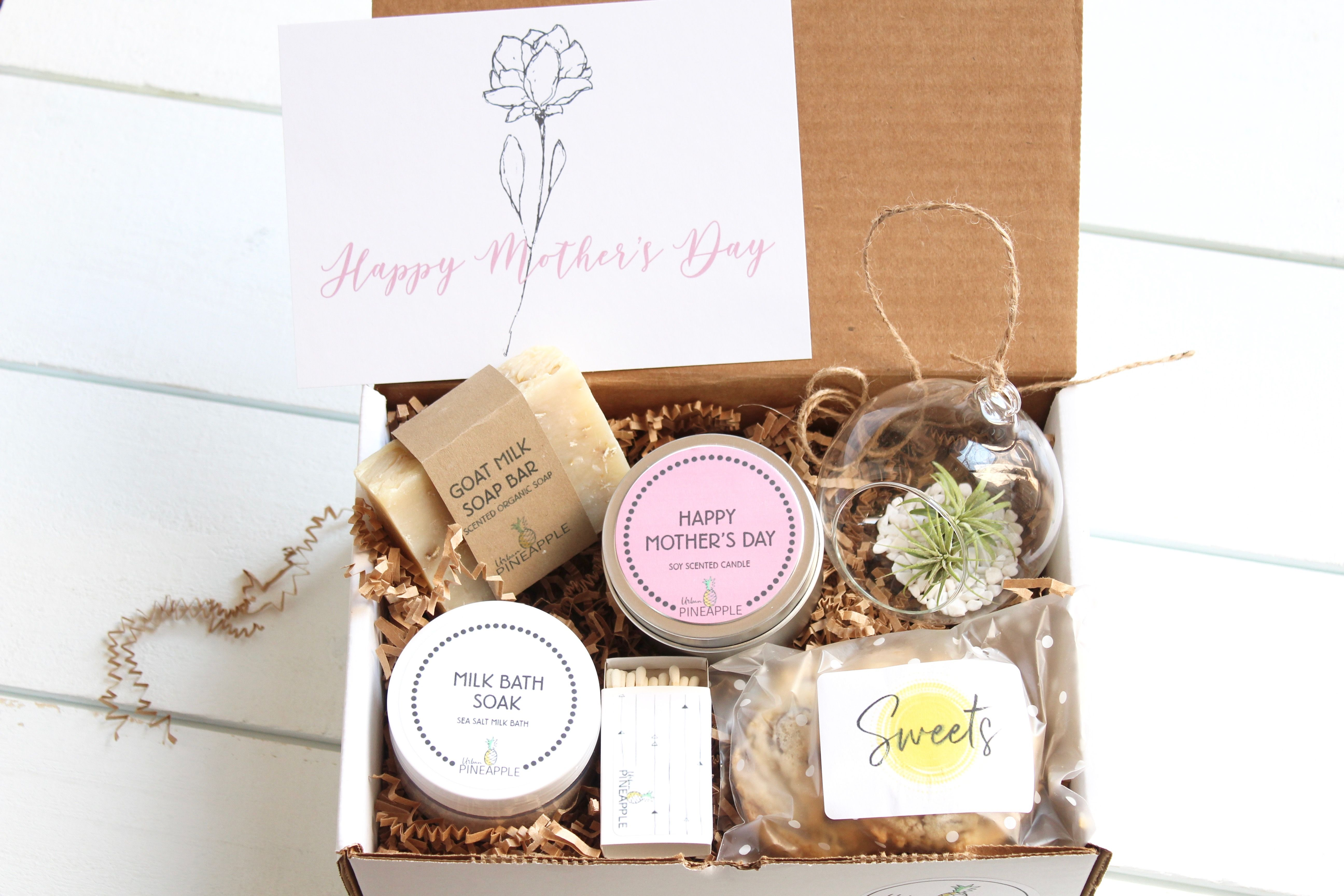 Personalized Gift Box Candle Gift Box Rose /& Candle Gift Set Gift Set for Her Mother/'s Day Gift Box Personalized Spa Gift Set