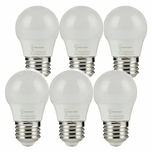 Lumenbasic 12v Led Bulbs E26 E27 12vdc 12vac Light Bulbs Low Daylight White Ebay In 2020 Led Bulb Solar Lights Bulb