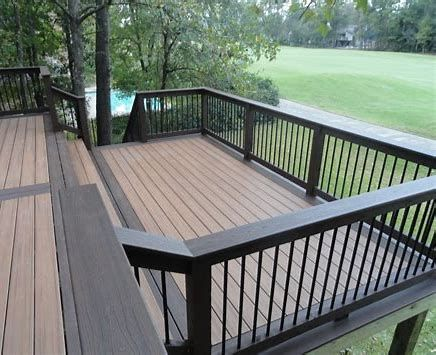Additionally Known As Wood Polymer Compounds Timber Choices Or Synthetic Decking The Compound Has Quickly Become T Outdoor Deck Building A Deck Staining Deck
