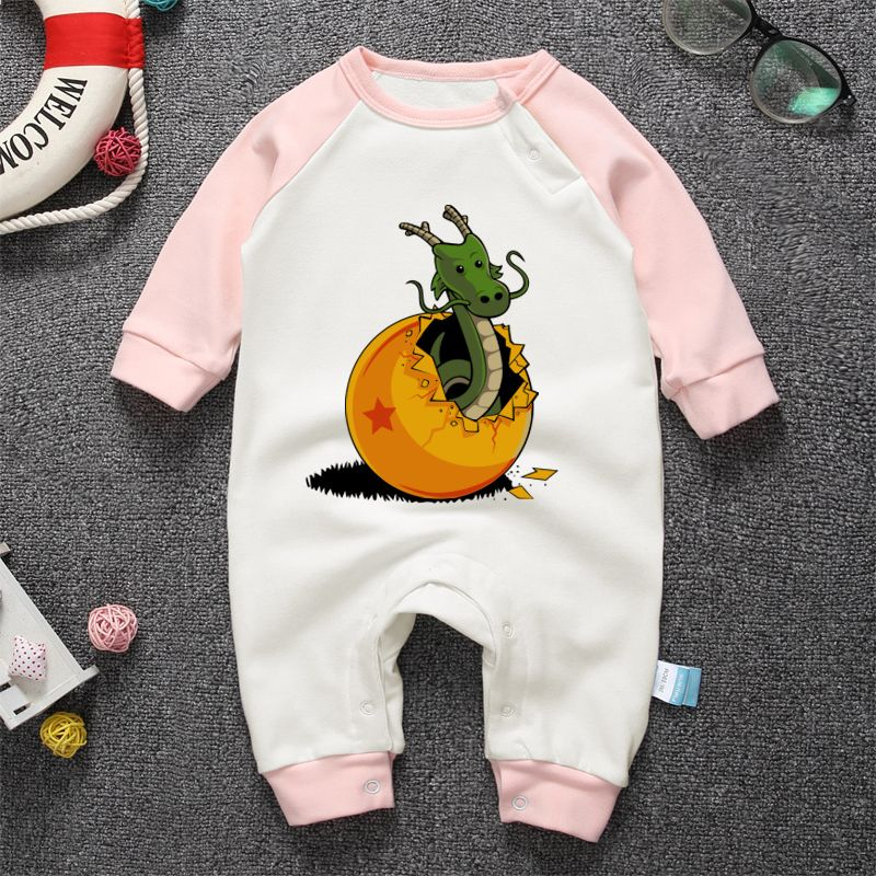 a12a03fcd Drangon Ball Newborn Spring Autumn Rompers 2018 Cute Toddler Baby ...