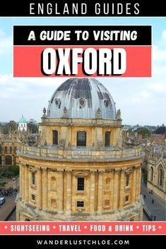 Plan your day trip to Oxford exploring the citys magnificent history and architecture great shopping top restaurants cafes and some quirky spots too in this informative t...