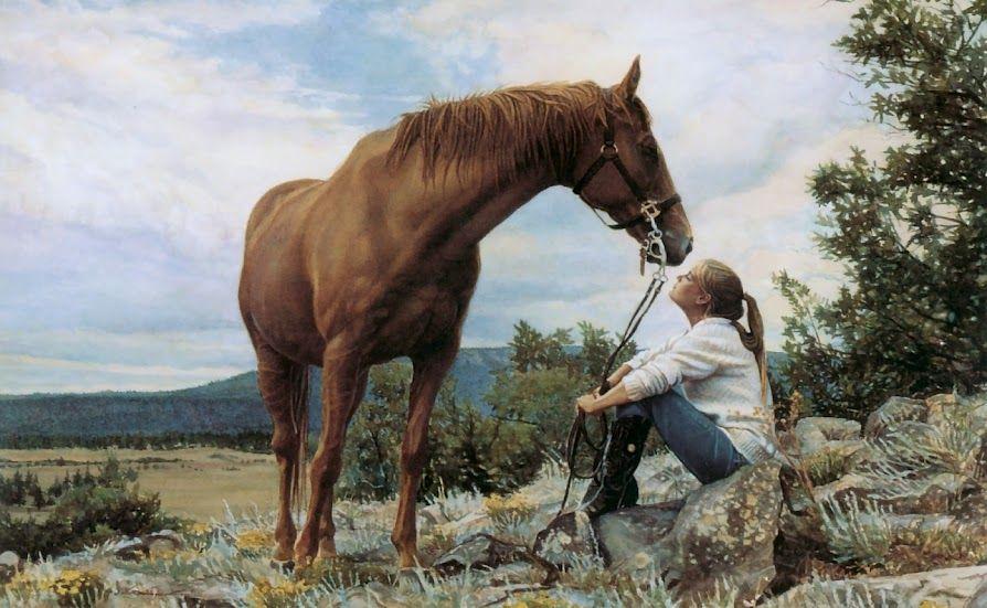 La donna che parlava ai cavalli... :))