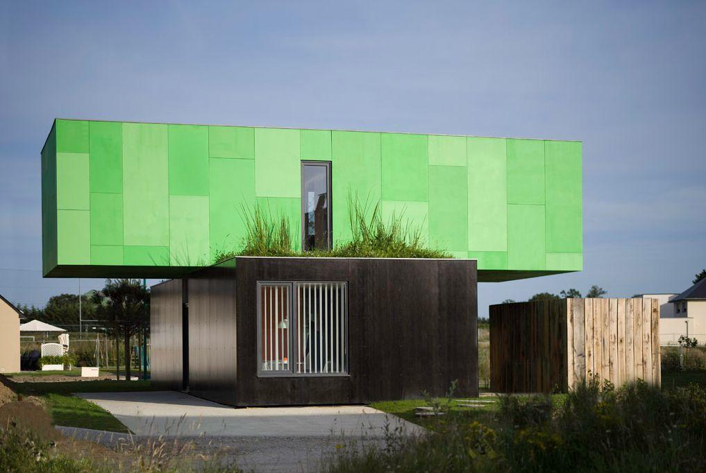 Crossbox - CG Architectes Container Living Pinterest Shipping