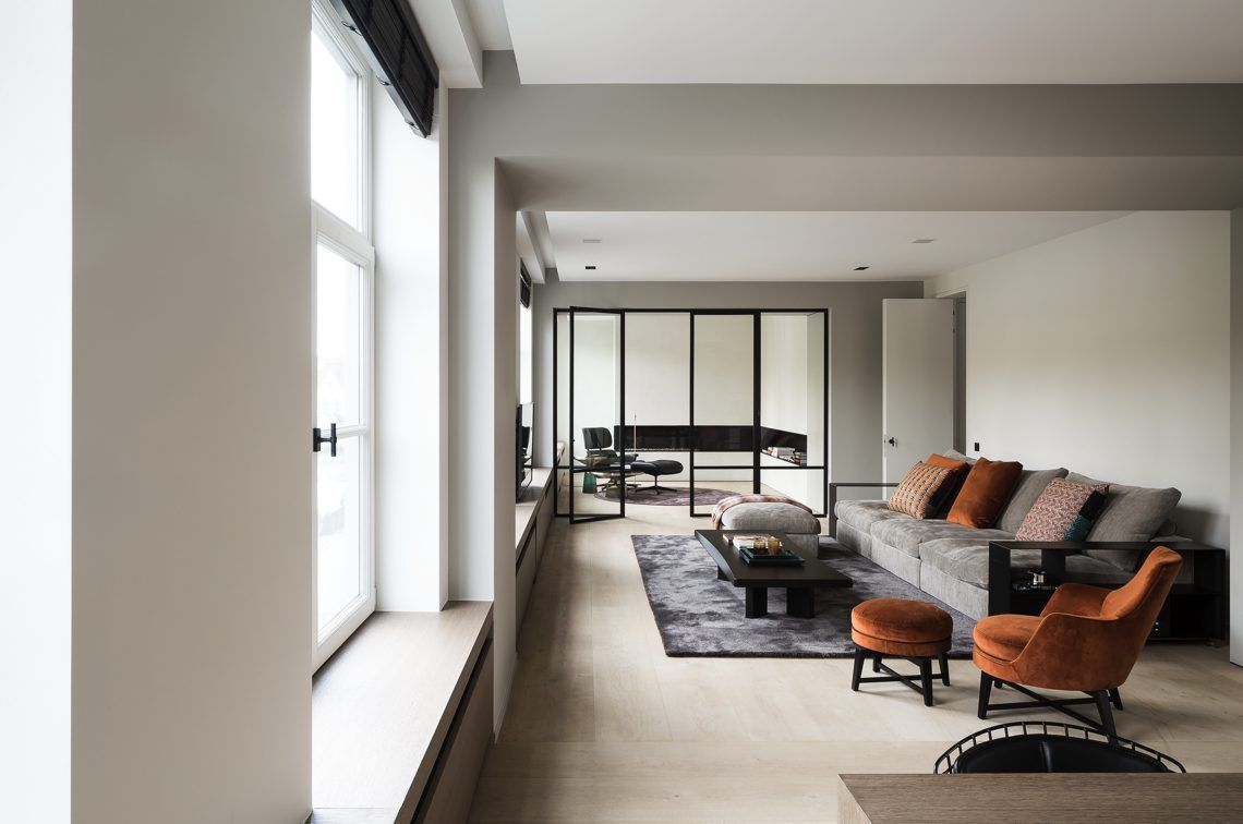 Modern Interieur Herenhuis : Juma architects renovatie oud herenhuis hoog □ exclusieve