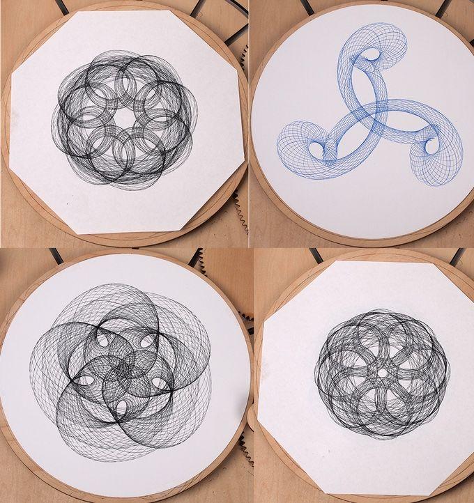 Cycloid Drawing Machine by Joe Freedman — Kickstarter
