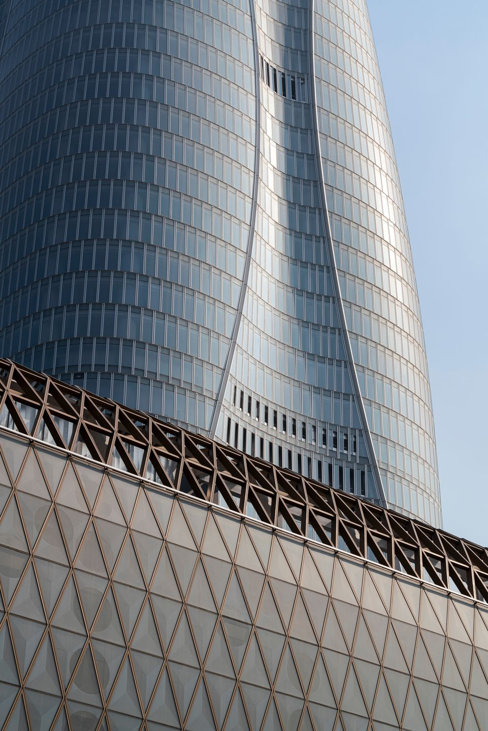 Tianjin Ctf Finance Center Skidmore Owings Merrill Llp Archello Tianjin American Architecture Architecture Photography