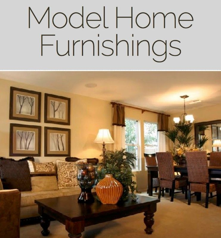 Model Home Furnishings And Combined Asset Estate Sale Model Home
