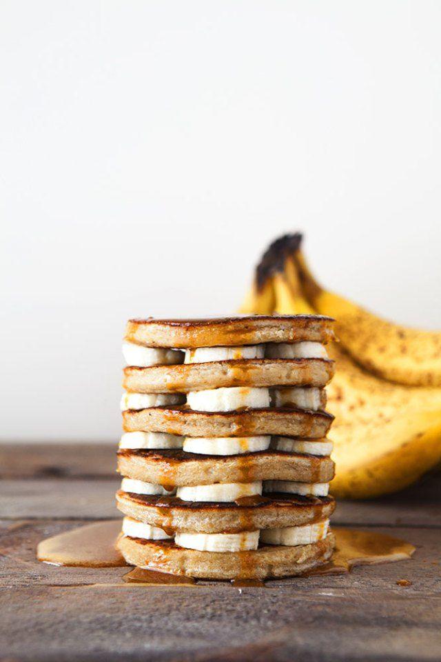 Banoffe Pancakes