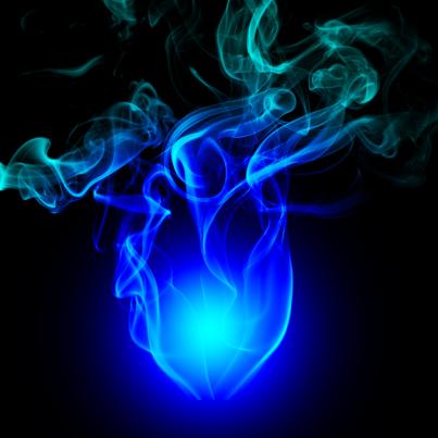 Fuego Azul Art Wallpaper Backgrounds Ethereal