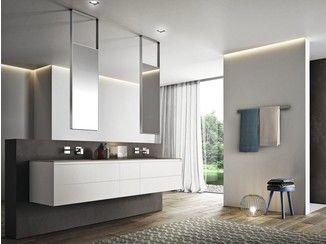 Badezimmer Ausstattung ~ Badezimmer ausstattung aus laminat cubik n° ideagroup bad