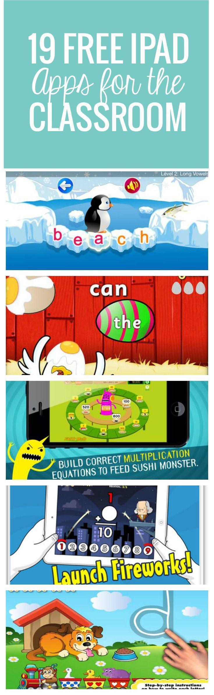 19 Free Ipad Apps For The Classroom  Kindergarten-1839