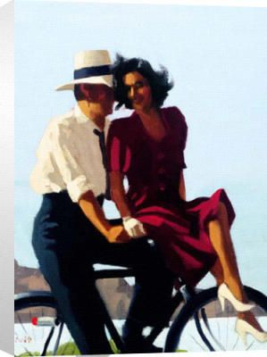 Jack Vettriano Bicycle Built For Two Jack Vettriano Jack