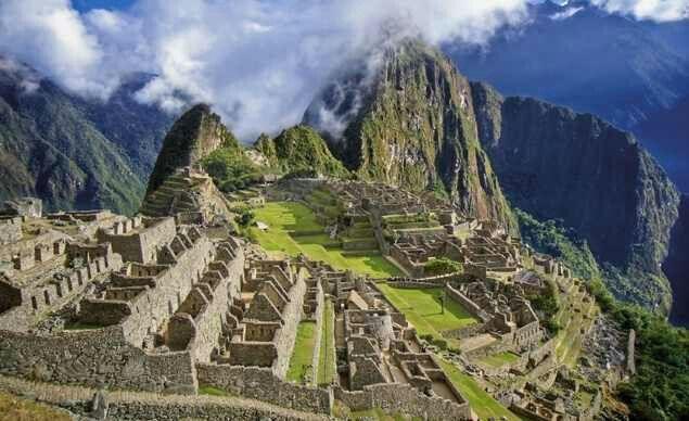Amazing shot of Machu Picchu