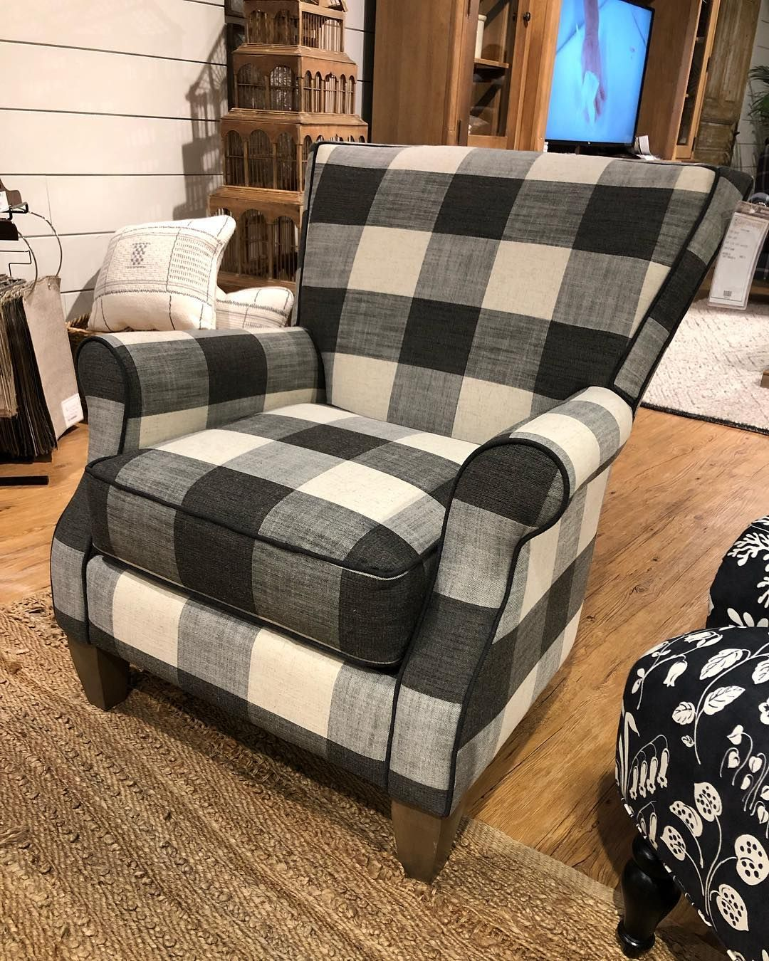 10 Most Popular Plaid Chairs For Living Room