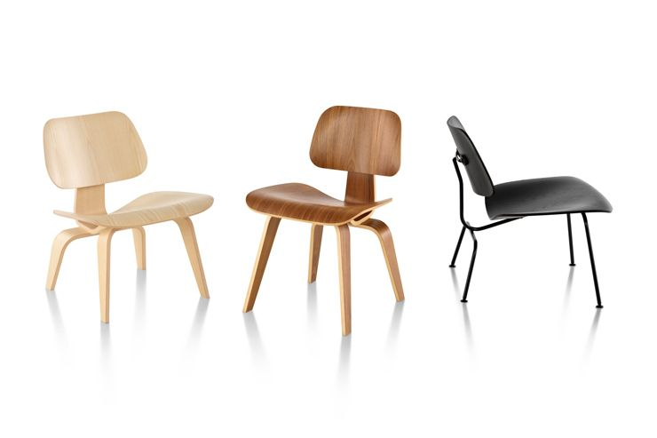 Marvelous Eames Molded Plywood Chairs Herman Miller Lounge Chair Pabps2019 Chair Design Images Pabps2019Com
