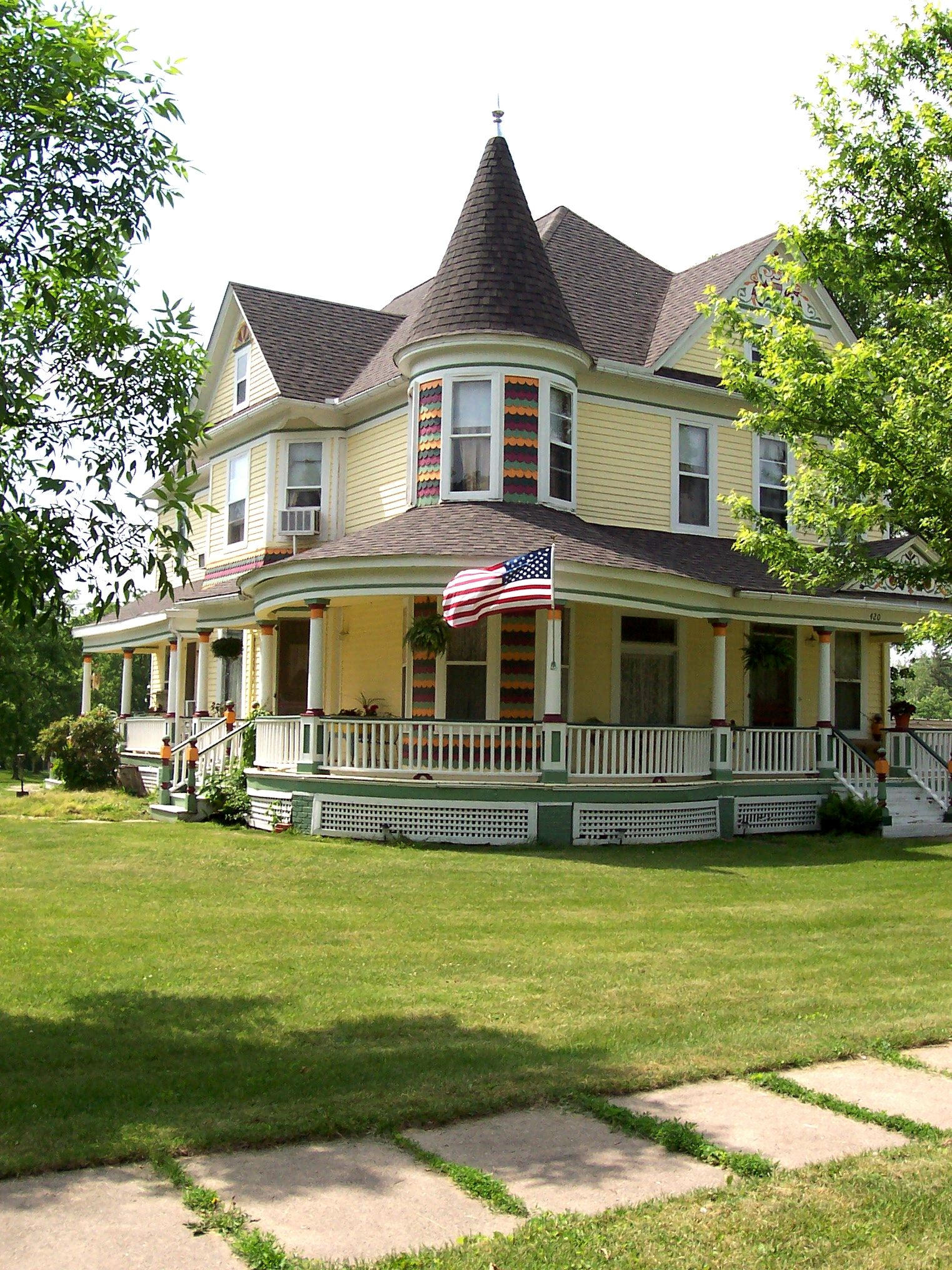 I dreamt of always owning a home with a wrap around porch