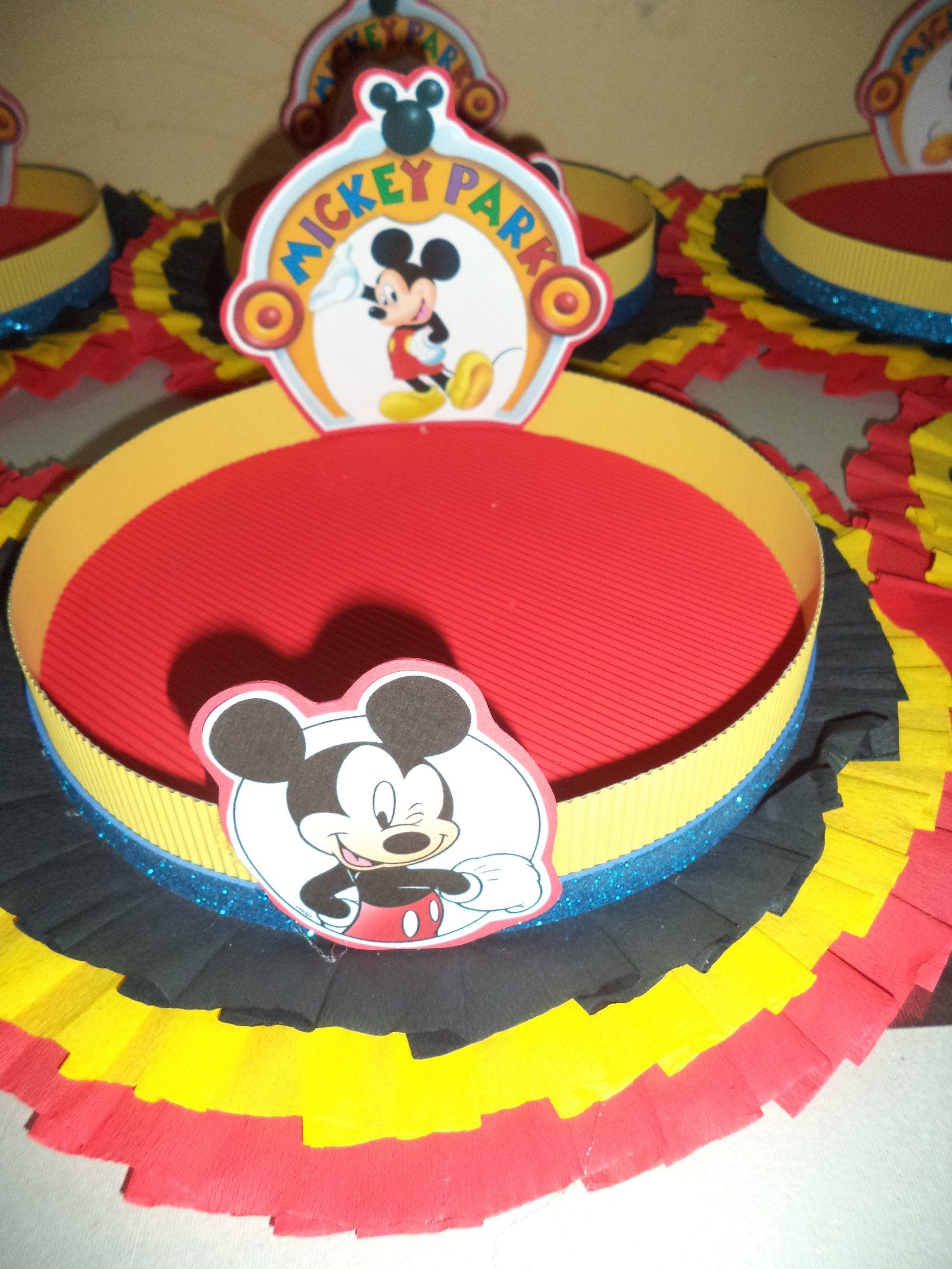 Como hacer bandeja decorada para cumplea os fiestas - Preparar fiesta cumpleanos ...