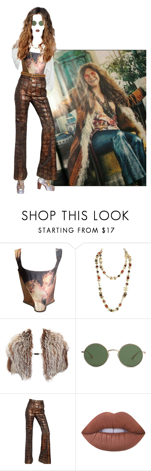 """""""PIECE OF MY RABBIT HEART"""" by treasureforever ❤ liked on Polyvore featuring Vivienne Westwood, Chanel, Tom Ford, The Row, Rochas and Lime Crime"""