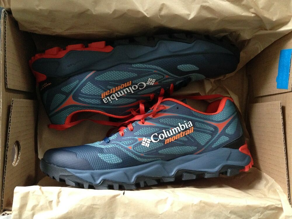 Columbia Sz 10.5 Montrail Hiking Trail Trans Alp Sneakers