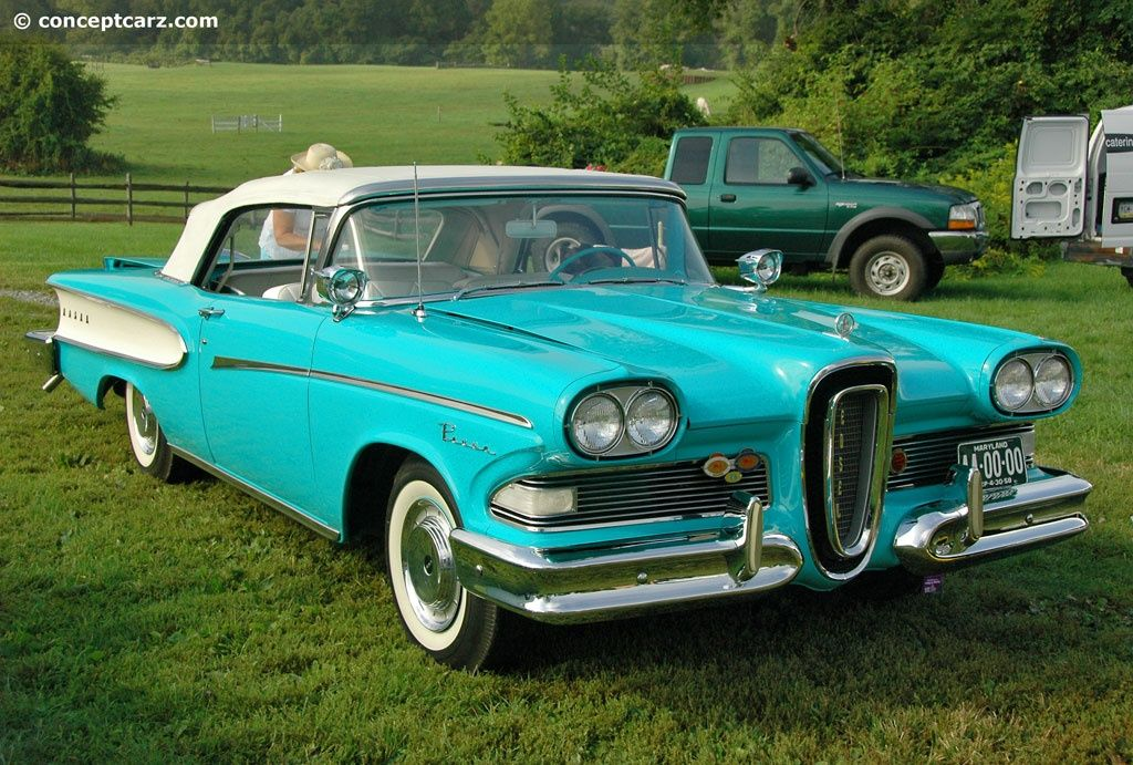 1958 Edsel Pacer - Walked by the dealership every day on my way to on