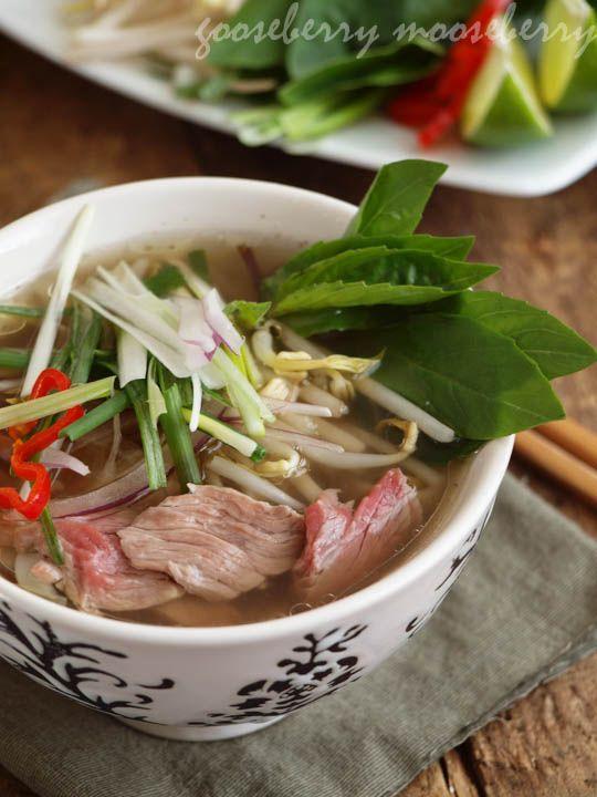 Pho (Vietnamese Beef Noodle Soup) | (6-8)
