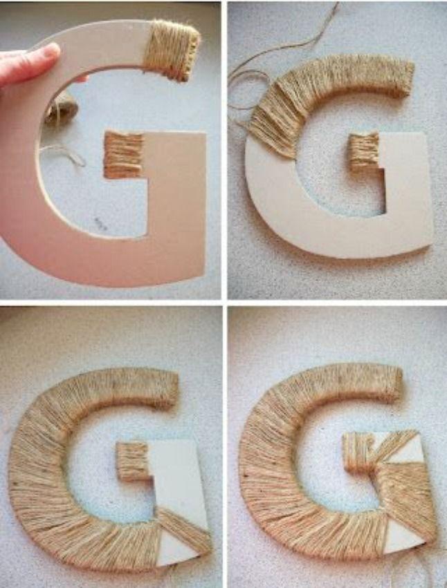 14 Ways To Decorate Cardboard Letters Cardboard Letters Letter A Crafts Cardboard Decor