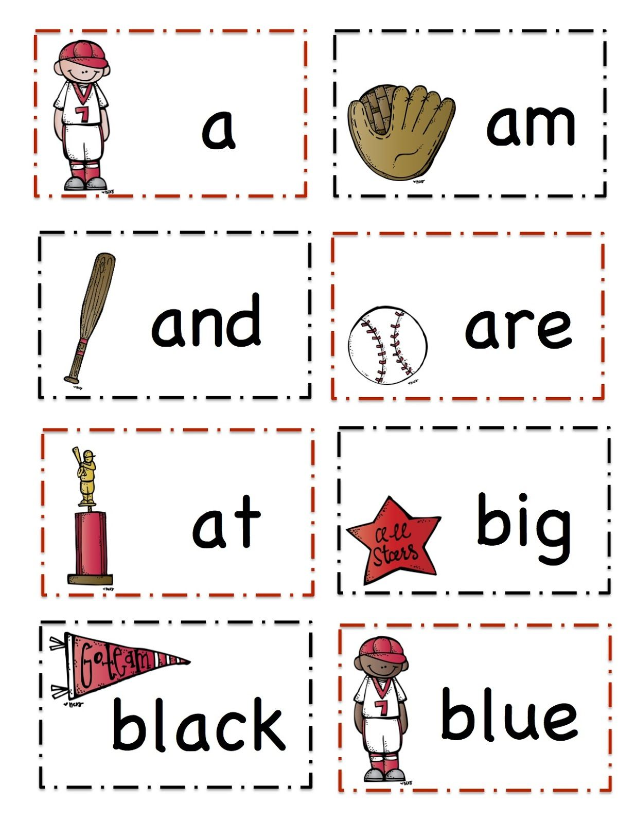 Preschool Printables Baseball With Images