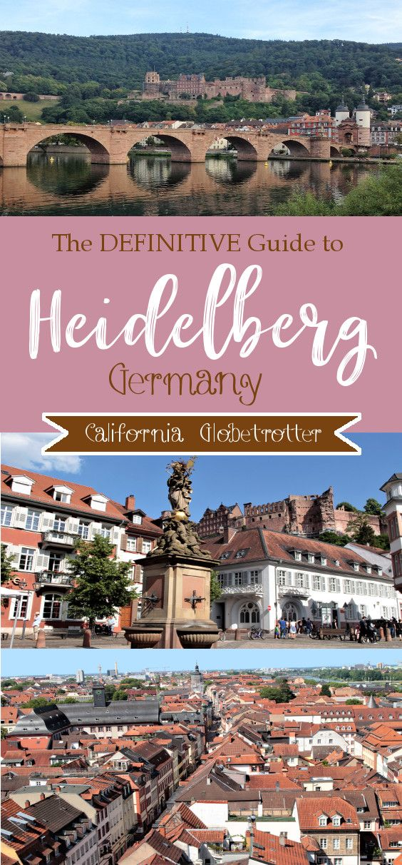 The DEFINITIVE Guide to Heidelberg's Exceeding Loveliness